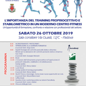 TRAINING PROPRIOCETTIVO E STABILOMETRICO
